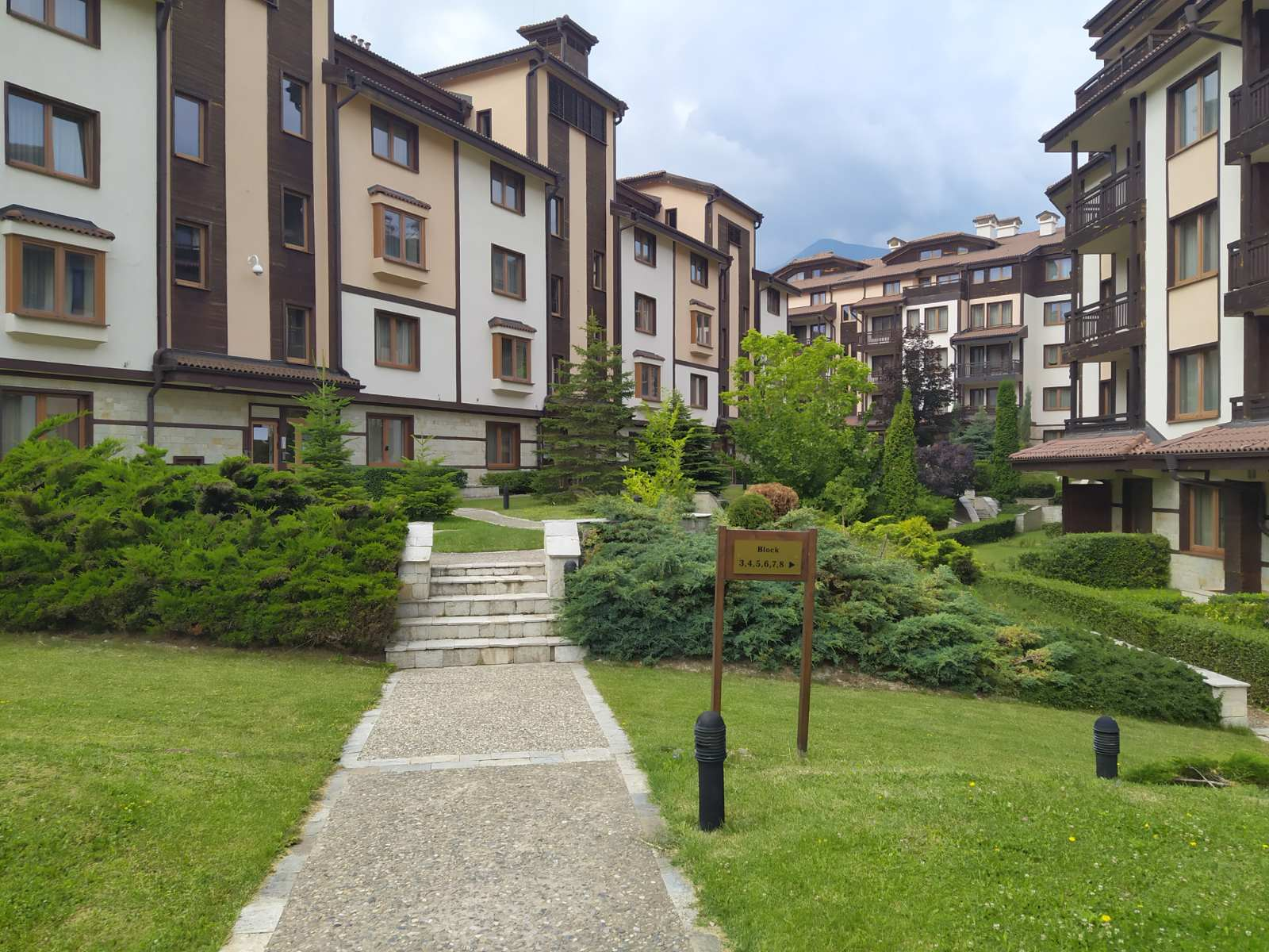one-bedroom apartment two steps from the ski lift, bansko