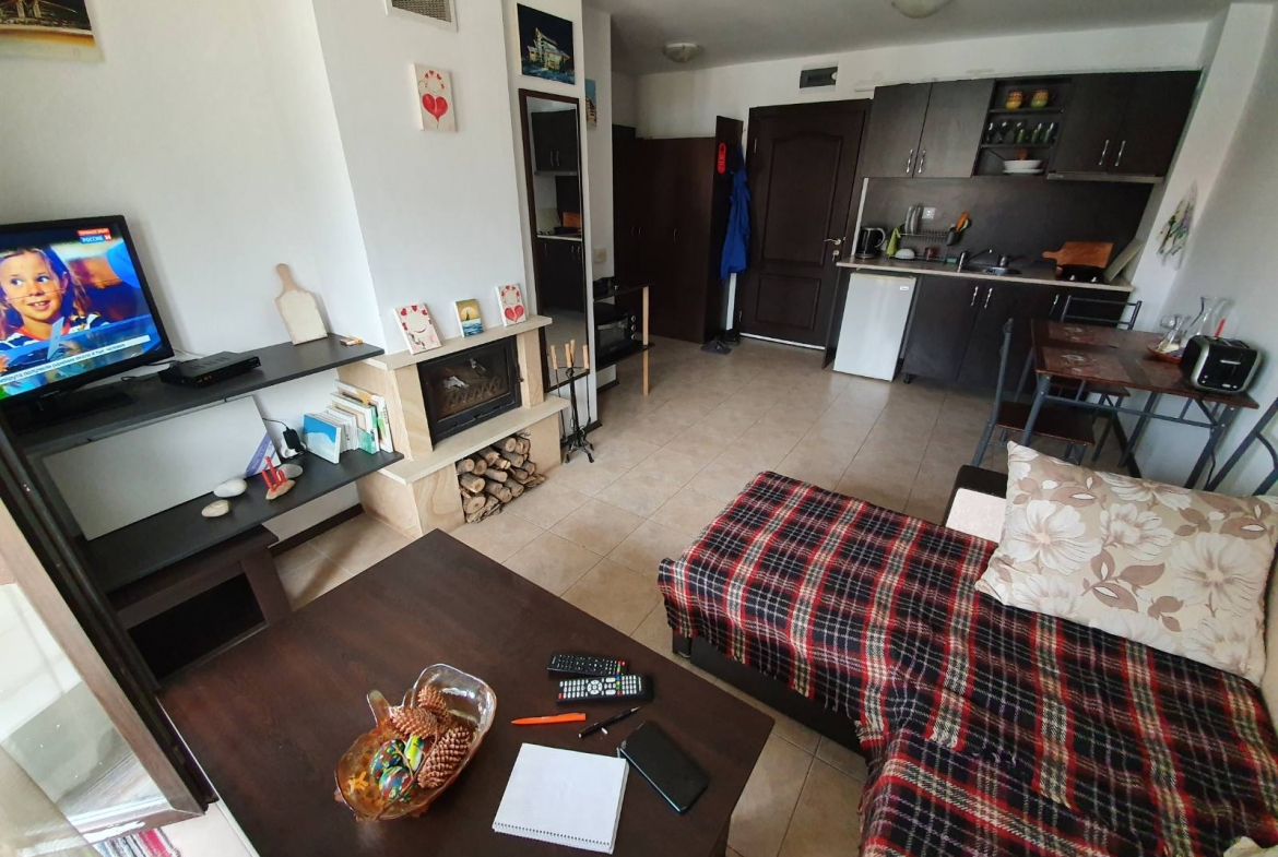 one bedroom apartment with fireplace in maria antoaneta