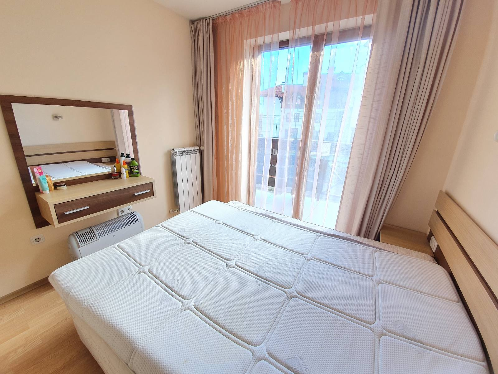 one-bedroom apartment with a view of the pirin mountain