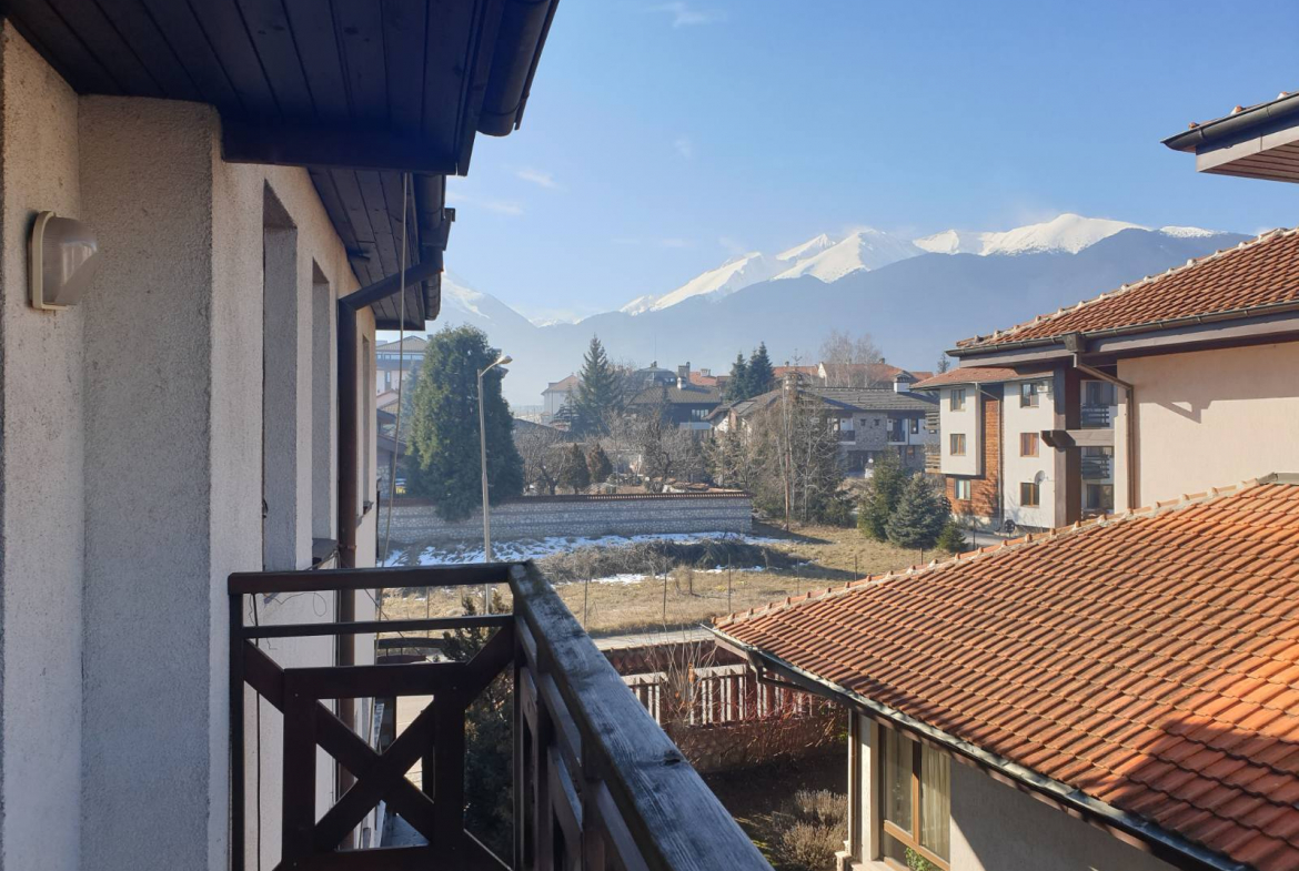 holiday studio in the center of bansko with low maintenance fee
