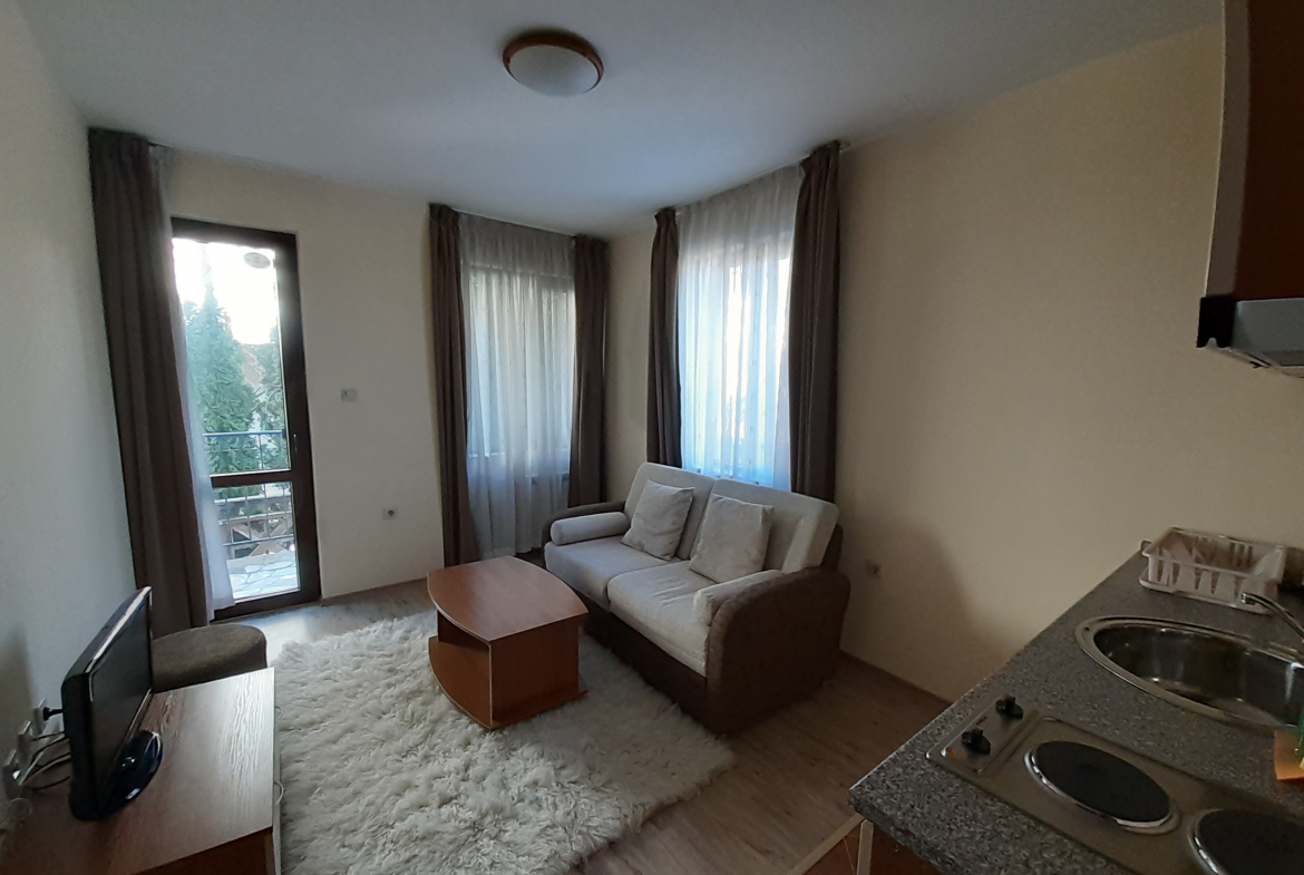 beautifully furnished apartment with private central heating